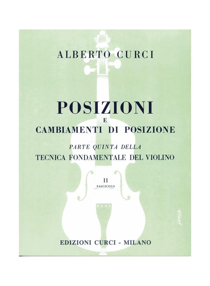 tecnica fondamentale del violino parte 2  Posizioni - Vol 2 Tecnica Fondamentale V