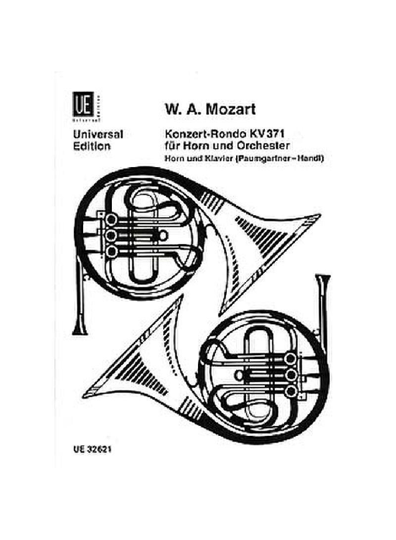 Konzert Rondo fur horn KV371